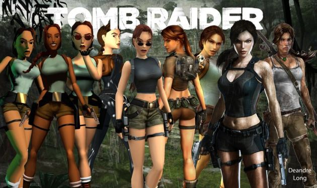 Evolution of Lara Croft