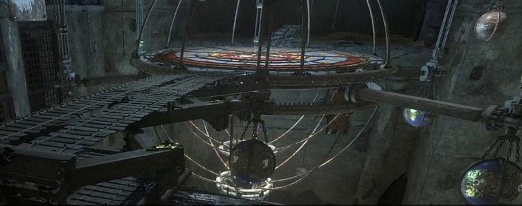 RotTR - planetarium puzzle