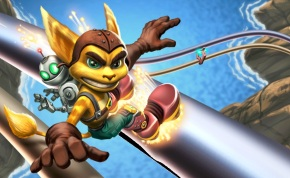Grinding in Ratchet and Clank feels like a less challenging -- though still fun -- version of Sonic Adventure 2.