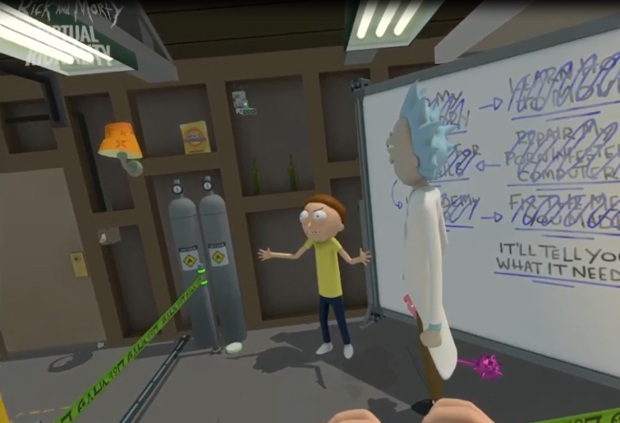 VR Rick and Morty Conclusion Image